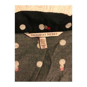 1add0cafcc PINK Victoria s Secret Intimates   Sleepwear - Victoria s Secret Christmas  Flannel PJ Set Size M
